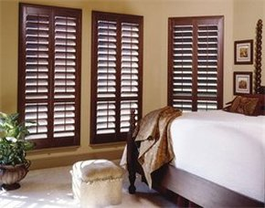 example of bedroom shutters